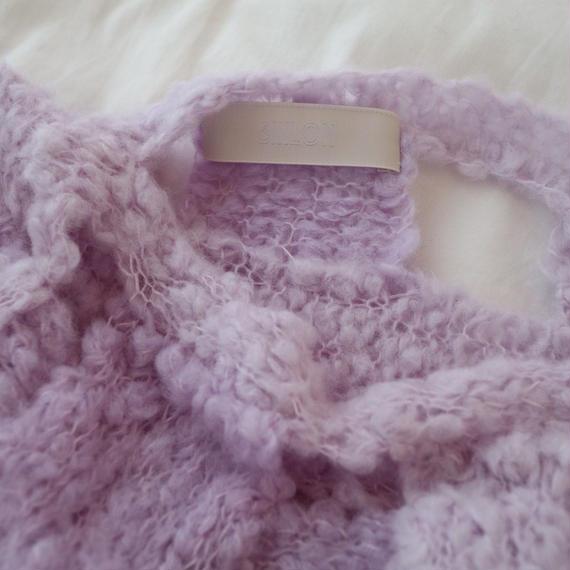 Sari. Purple