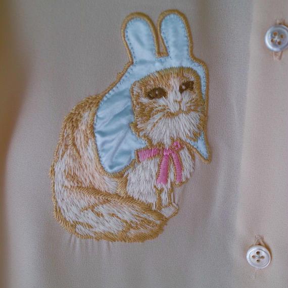 80's cat shirt