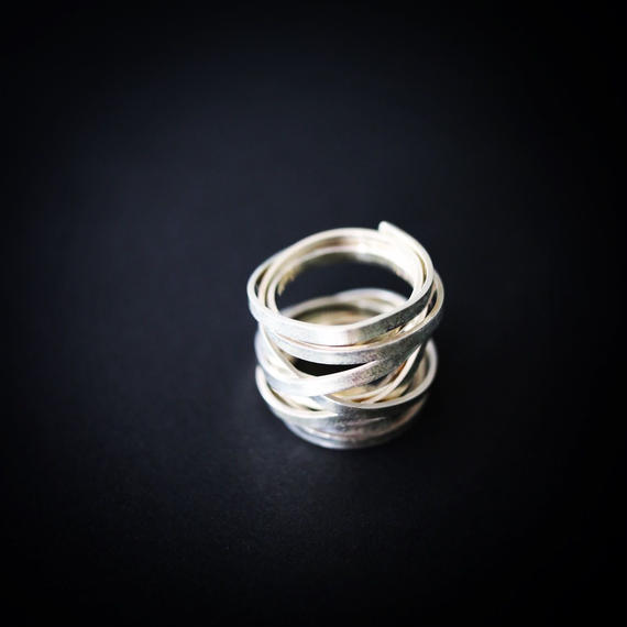 Rough  Wide  Ring