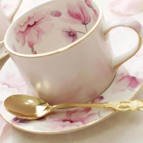 【1客】クリスティーヌ柄♡カップ&ソーサー