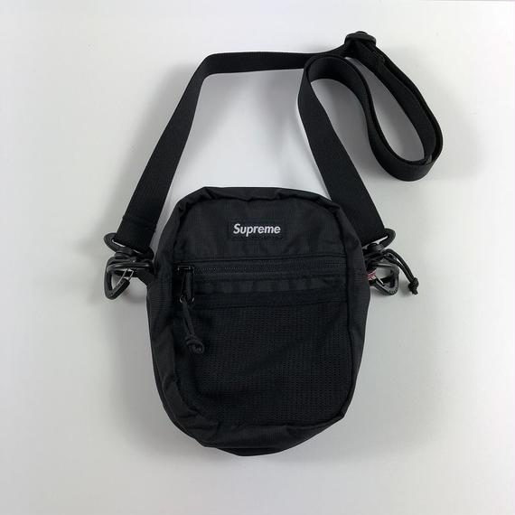 Supreme Small Shoulder Bag Black 17SS 【中古】