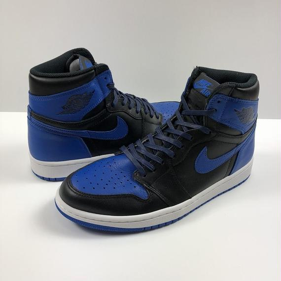 NIKE AIR JORDAN 1 RETRO HIGH OG ROYAL 27.0cm 2017年 【新品】