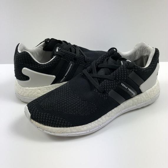Y-3 PURE BOOST BLACK WHITE 26.0cm 【中古】
