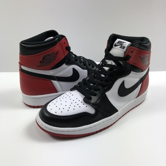 NIKE AIR JORDAN 1 RETRO HIGH OG BLACK TOE つま黒 27.0cm 2016年 【新品】