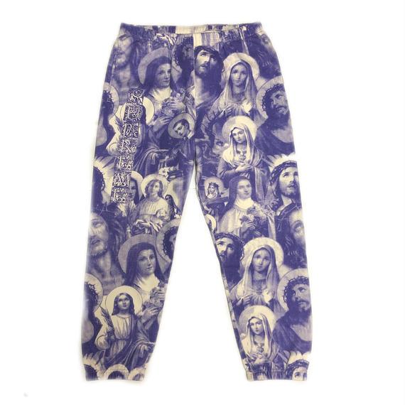 Supreme Jesus and Mary Sweatpant Purple M 18AW 【新品】