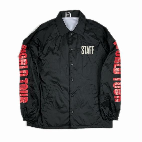 JUSTIN BIEBER PURPOSE TOUR WORLD TOUR COACHES JACKET M【中古】