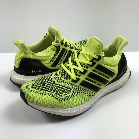 adidas ULTRA BOOST SOLAR YELLOW 27.0cm 【中古】