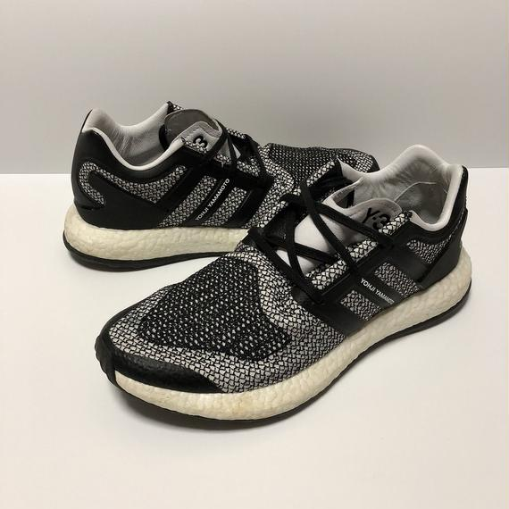 Y-3 PURE BOOST BLACK 26.5cm 【中古】