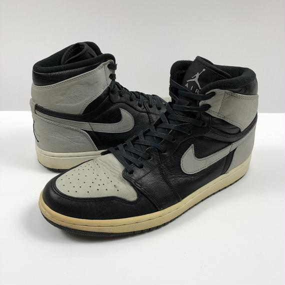 NIKE AIR JORDAN 1 HIGH SHADOW 27.0cm 2009年 【中古】