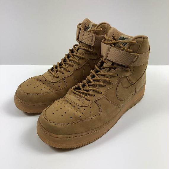 NIKE AIR FORCE 1 HIGH WHEAT FLAX 27.0cm 【中古】