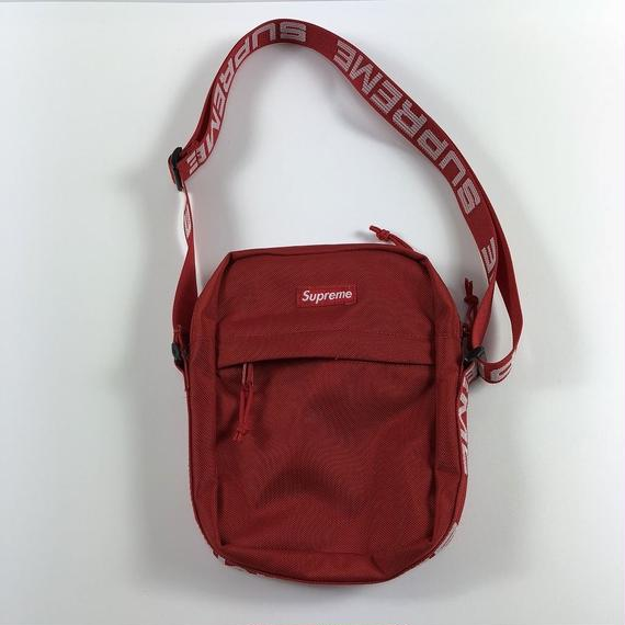 Supreme Shoulder Bag Red 18SS 【中古】