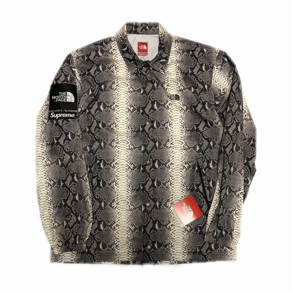 Supreme The North Face Snakeskin Taped Seam Coaches Jacket Black M 18SS 【新品】