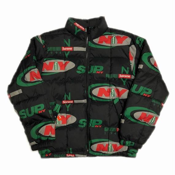 Supreme NY Reversible Puffy Jacket Black M 18AW 【新品】