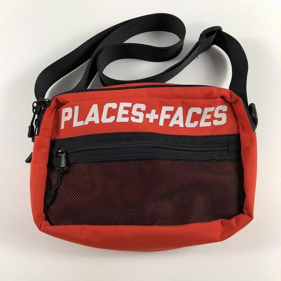 Places+Faces Shoulder Bag Orange 【中古】