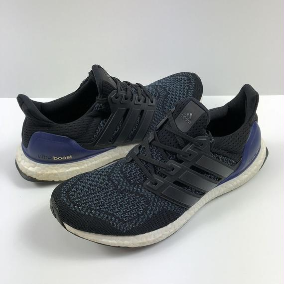 adidas ULTRA BOOST CORE BLACK  27.0cm 【中古】