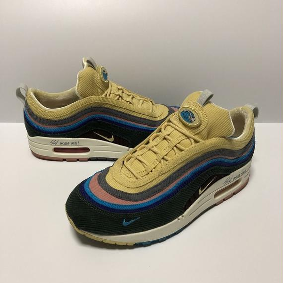 NIKE AIR MAX 1/97 VF SW SEAN WOTHERSPOON 直筆サイン入り 27.0cm 【中古】