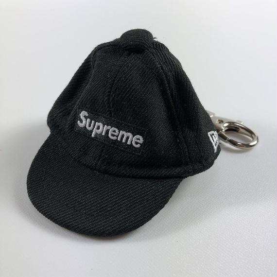 Supreme New Era Keychain Black 14AW 【中古】