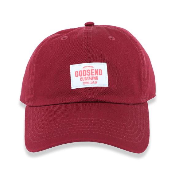 6PANEL  COTTON  CAP  RED/NAVY/BLACK