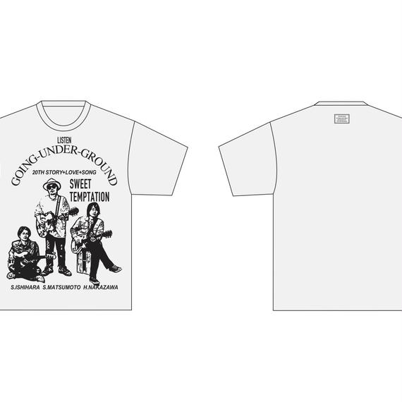 『GOING UNDER GROUND x  TANGTANG 20th ANNIVERSARY LISTEN Tee』