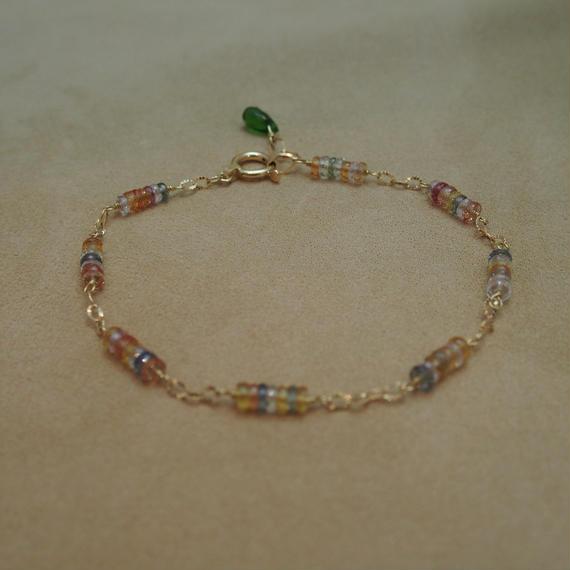 Multi Sapphire Bracelet