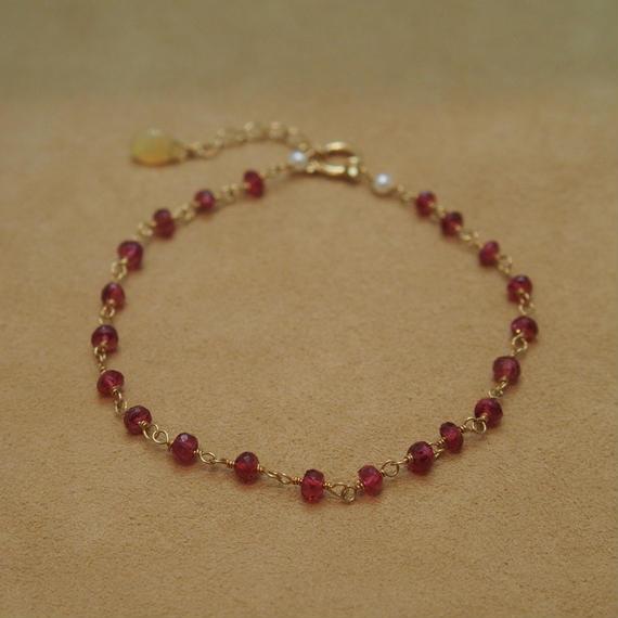 Red Spinal Bracelet
