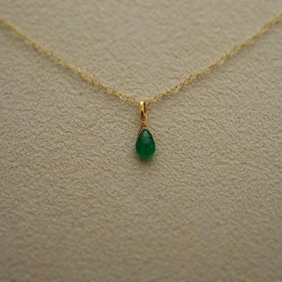 Emerald Pendant Top(p/s)