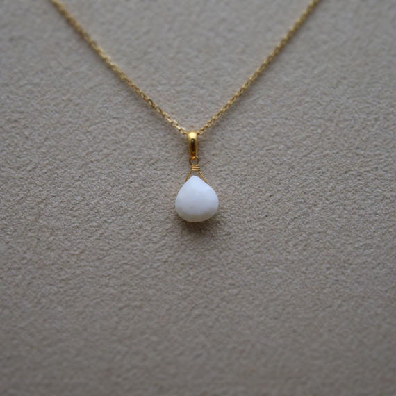 White Agate Pendant Top(m/c)