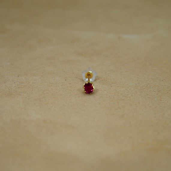 Ruby Single Earring(o/v)