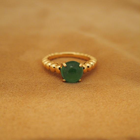 Emerald doux Ring