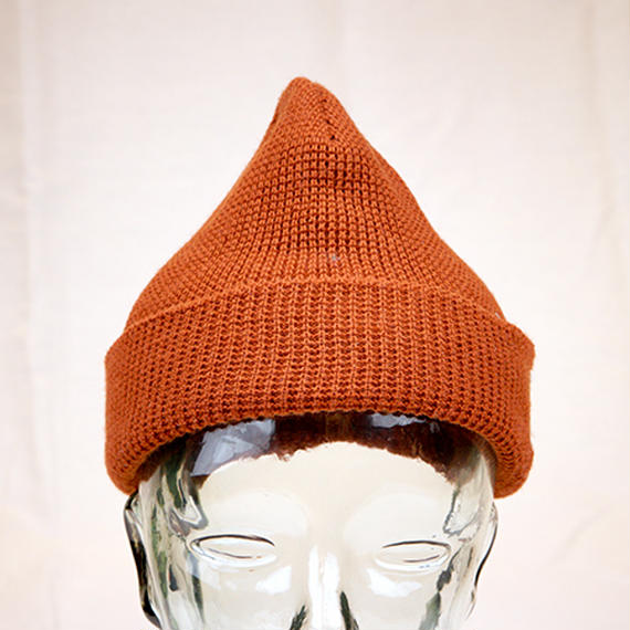 【L18S02】T/S AMBER WAFFLE BEANIE(BROWN)