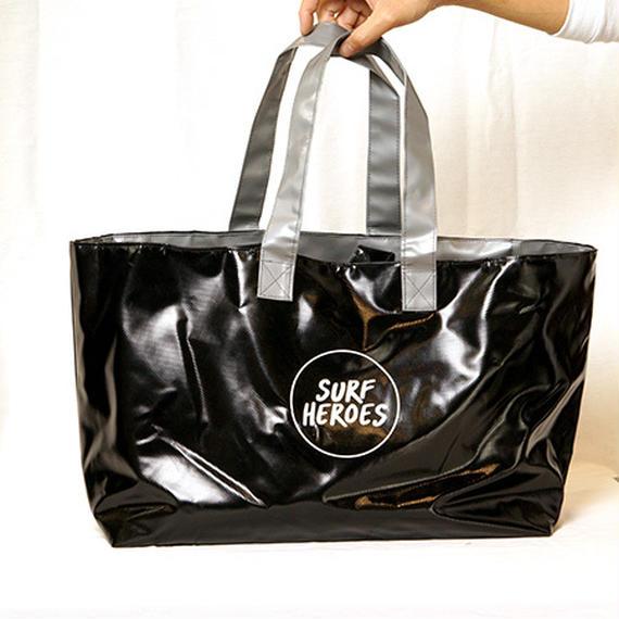 【R18A01】R Wet Big TOTE ・BLACK×GREY(通常価格:9288円)