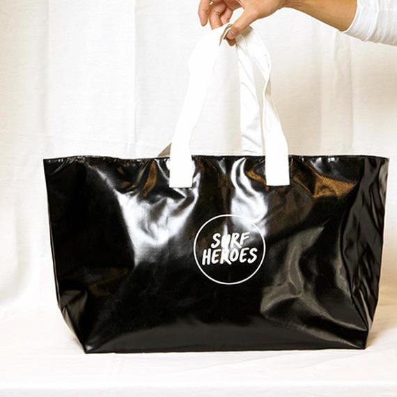 【R18A01】R Wet Big TOTE BLACK×WHITE(通常価格:9288円)