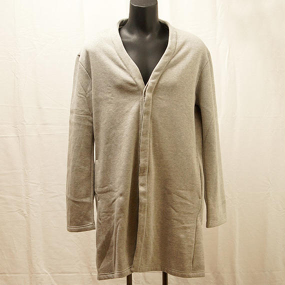 【S18A07】SMS Long Coat(GREY)