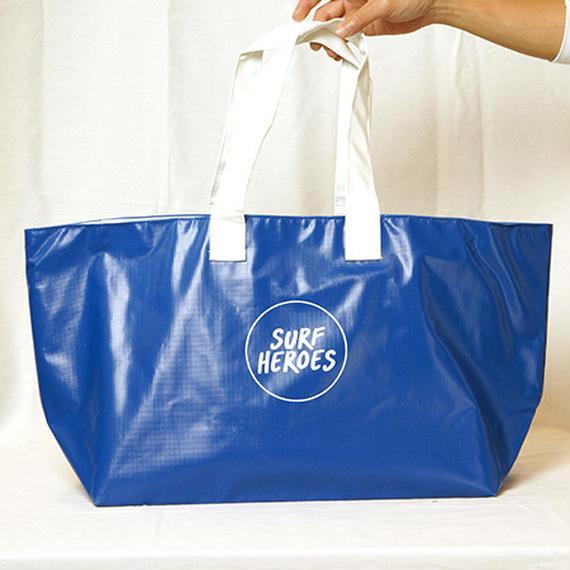 【R18A01】R Wet Big TOTE BLUE ×WHITE(通常価格:9288円)