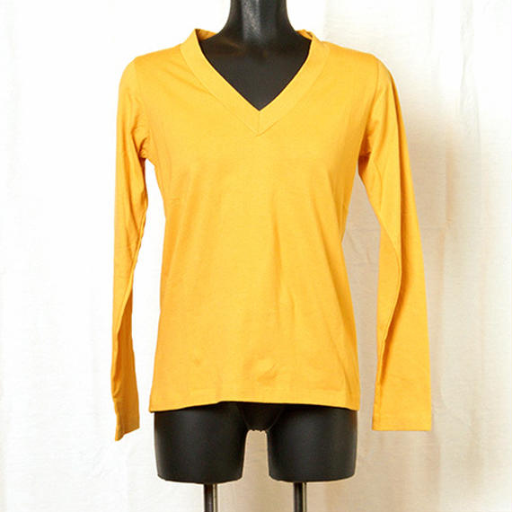 【Z18A07】Laughaha BASIC V L/S ・YELLOW(通常価格:7020円)