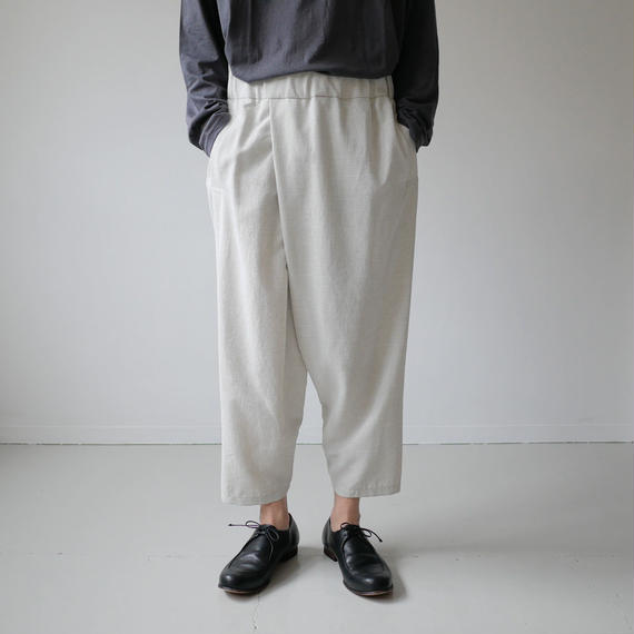 NO CONTROL AIR ノーコントロールエアー POLYESTER DOBBY BUTCHER CLOTH PANTS