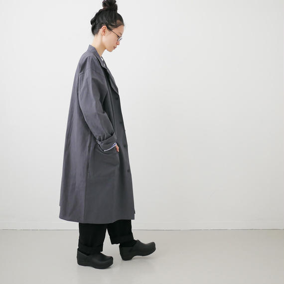 Si-Si-Si comfort|スースースーコンフォート  |WASHABLE COTTON  WINDOWJACKET|GRAY|18-AW003DP
