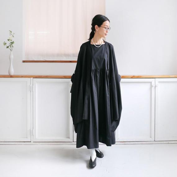 Alaris アラリス ガッシュ別注 3Wayギャザーワンピース BLACK OP-010-G