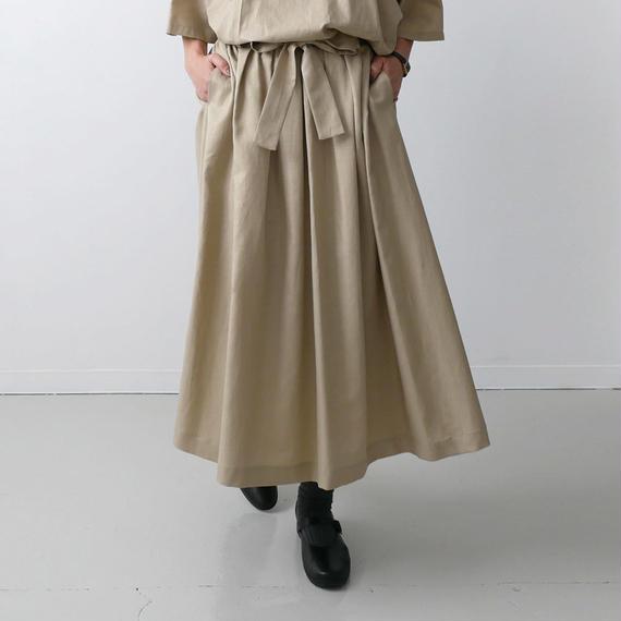 Si-Si-Si comfort スースースーコンフォート スカート BEIGE 18-SS036
