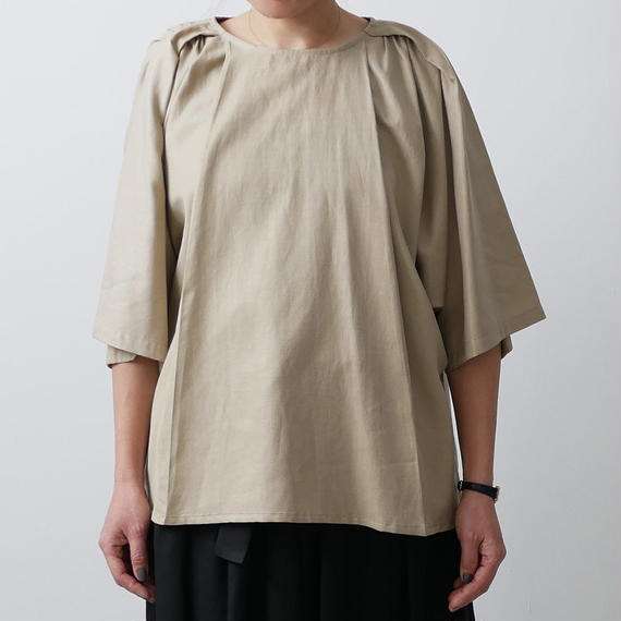 Si-Si-Si comfort スースースーコンフォート ブラウス CEREMONIAL OCCASIONS BLOUSE BEIGE 18-SS035