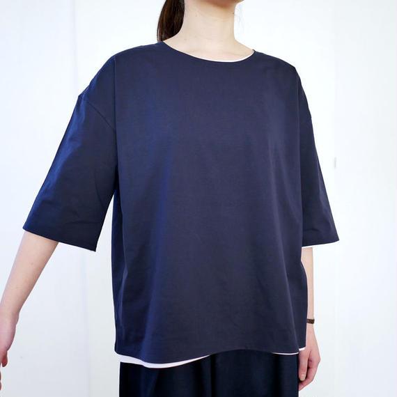 THE FACTORY  ザ・ファクトリー  コットン 半袖Tシャツ TF17SS-M0201