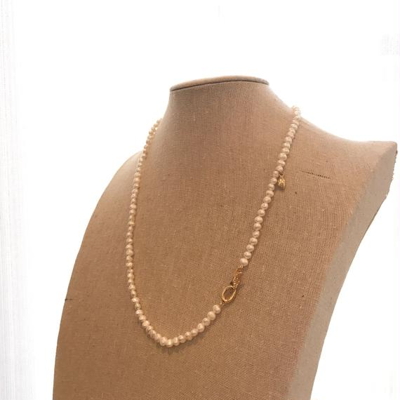 "Freshwater pearl necklace ""lily"""