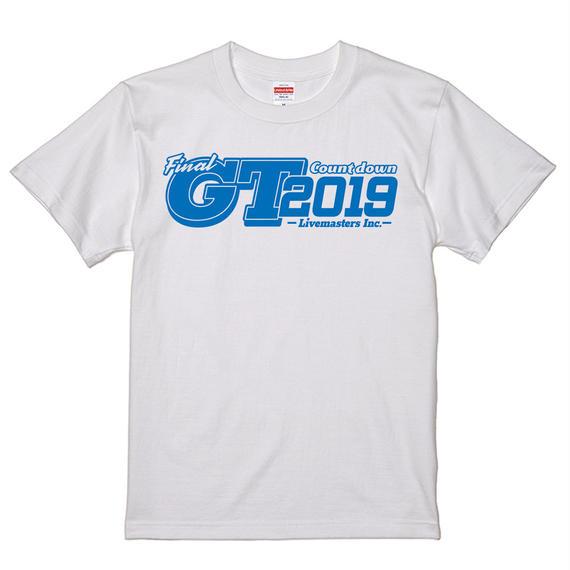 GT2019 ロゴ Tシャツ (ホワイト)