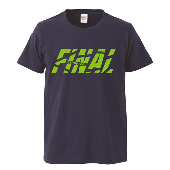 GT2019 FINAL Tシャツ(インディゴ)