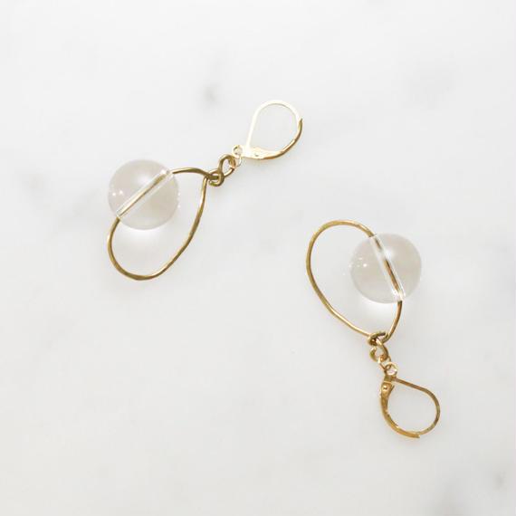 Crystal Globe Earrings
