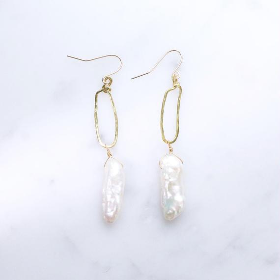 Freshwater Pearl Long Earring
