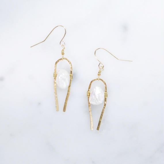 Freshwater Pearl Ethnic Earring
