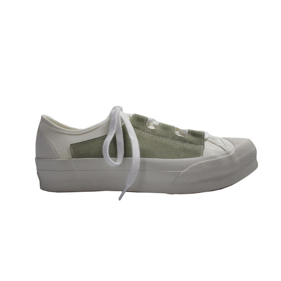 NEEDLES - Asymmetric Ghillie  Sneaker-white