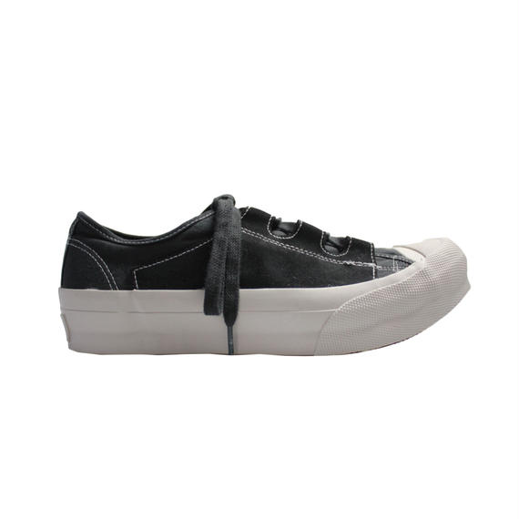 NEEDLES - Asymmetric Ghillie Sneaker  -black