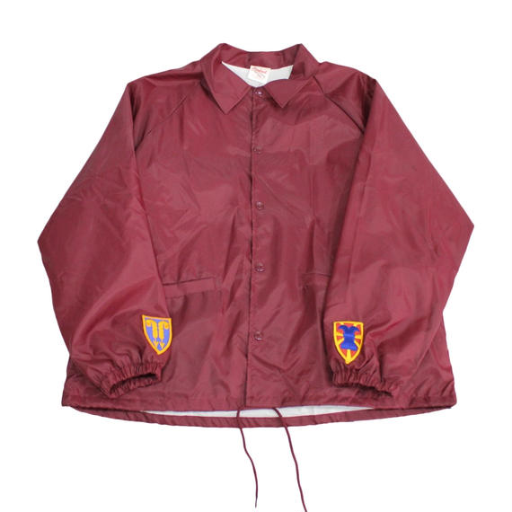 INFIELDER DESIGN   Cardinal coach jacket   WINE- size XL -
